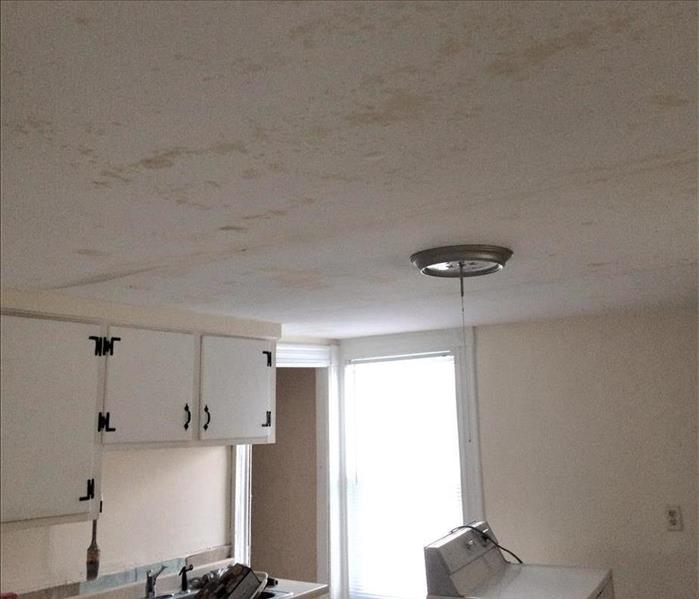Water Damage Restoration in Torrington, CT Rental Home Before