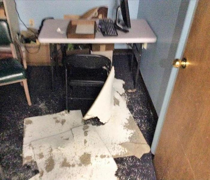 Faulty Fire Sprinkler in Torrington Commercial Building Causes Water Damage Before