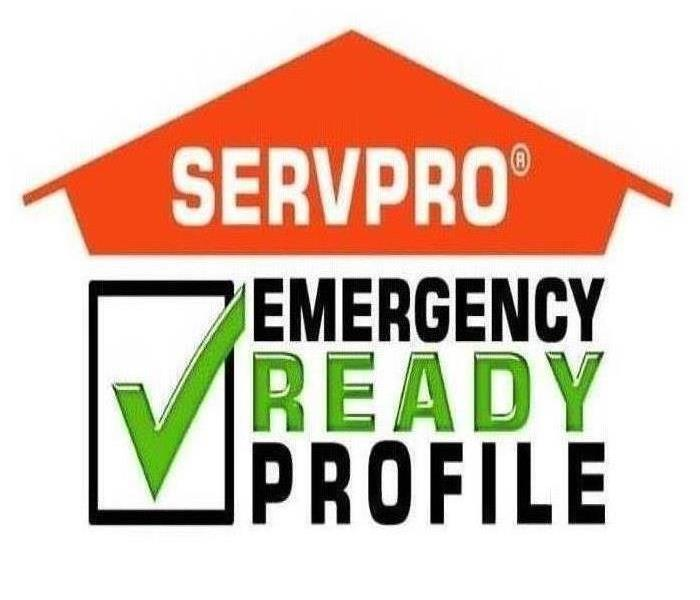 house with orange servpro logo on it