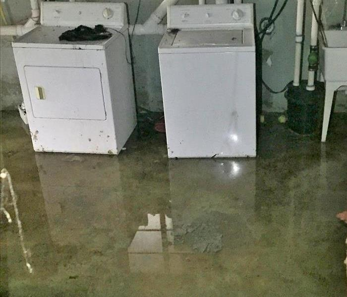 Water Damage Restoration Of Flooded Basements In Southbury